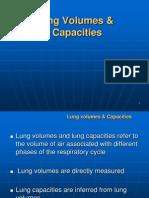 Lung Volmes& Capacity