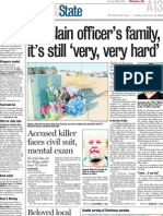For slain officer's family, it's still 'very, very hard'