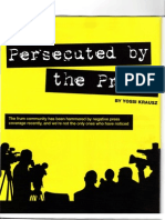 Ami Magazine - Persecuted by the Press