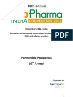 Conference Brochures - Mumbai 2012