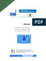 Manual Comunidades Seguras 2012