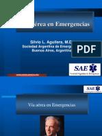 Via Aerea en Emergencias (Tres Arroyos)