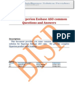 ASO Common Questions and Answers