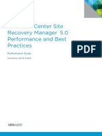 VMware SRM5.0 Performance & Best Practices