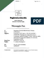 Comunicazione Regione Lombardia 6.6.12