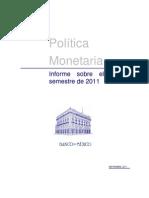 PoliticA eCONOmica Banxico
