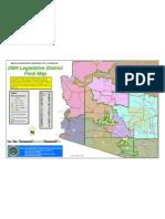 2004 Arizona Legislative Districts Map