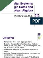 DigitalSystems-LogicGates_BooleanAlgebra