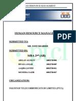 PAKISTAN TELECOMMUNICATION LIMITED (PTCL)