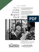 Housing Crisis Report Card