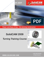 SolidCAM 2009 Turning Training Course