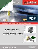 SolidCAM 2009 Turning Training Course