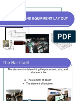 Chapter 3 Bar Parts and Equipment Lay Out
