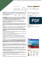 Margallo da prioridad al Corredor Mediterráneo - Levante-EMV