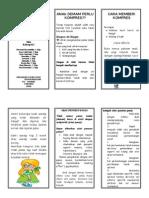 Leaflet Anak Demam 2