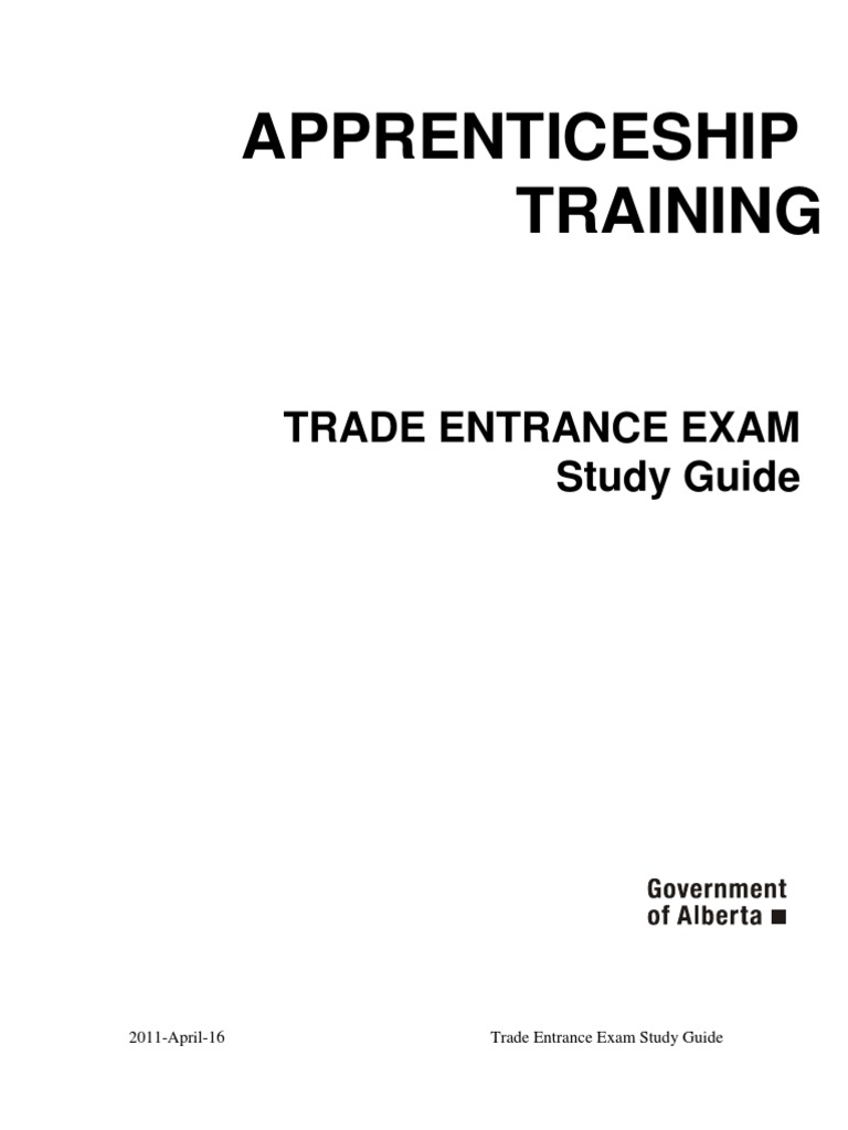 apprenticeship trade entrance exam study guide liquids cluster rh scribd com Study Guide Exam Outlines trade secrets entrance exam study guide