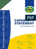 Capabilty Statement June09
