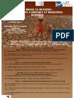 Programme Migrations Environnementales, 15 Juin