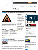 Health and Safety News 6 June 2012