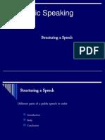 Structuring a Speech