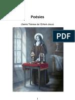 Poesies de Sainte Therese de Lisieux