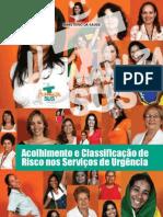 Livro - Acolhimento e Classificação de Risco nos Serviços de Urgência - MS- 2009