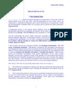 Draft of UN Rio+20 main text - 2 June 2012, 5:00 pm