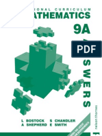STP Maths 9A Answers