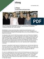 Vorstandssitzung der SG Rheinfelden 2010