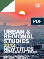 Urban & Regional Studies