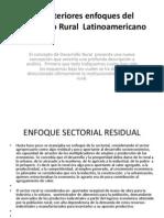 Los Anteriores Enfoques Del Desarrollo Rural Latinoamericano