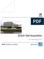 British Salt Acquisition