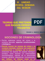 3 senana III  UNIDAD 2da Sesión  Herencia Criminal