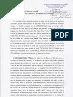 Recurso de Hecho Ante Sala Penal Del Tsj 08jun2012