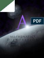 Mathematics A Disposition (WIP)