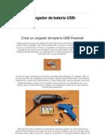 Crear un cargador de batería USB