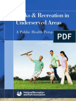 Parks Rec Underserved Areas