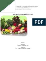 Apuntes de Olericultura