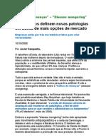 Tráfico de Doenças - Laboratórios Definem Novas Patologias Em Busca de Mais Opções de Mercado