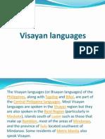 Visayan Languages