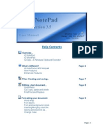 Iq Notepad