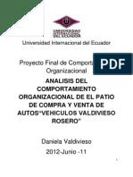 Comportamiento Organizacional Trabajo Final