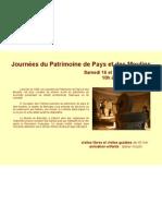 Tour du Moulin Journées du Patrimoine de Pays et des Moulins 2012