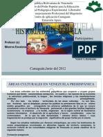 PRESENTACIÓN ÁREAS CULTURALES DE VZLA