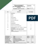 Manual de Procedimientos de Gerentes Financieros