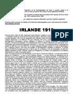 La grande grève de Dublin – Irlande 1913