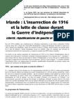 Irlande 1916 – Lutte de classe, républicanisme et anarchisme