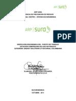 Inspeccion Ergonomica de Puesto de Trabajo Hatonuevo 2011