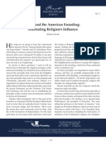 Faith and the American Founding