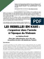 Les rebelles en kaki – Subversion dans l'armée US durant la guerre du Vietnam